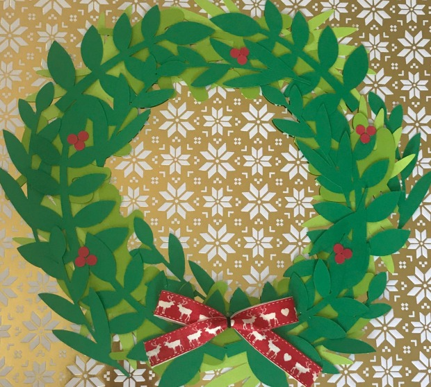 Christmas wreath 17